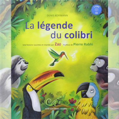 "CD AUDIOBOOK ""LA LÉGENDE DU COLIBRI"""