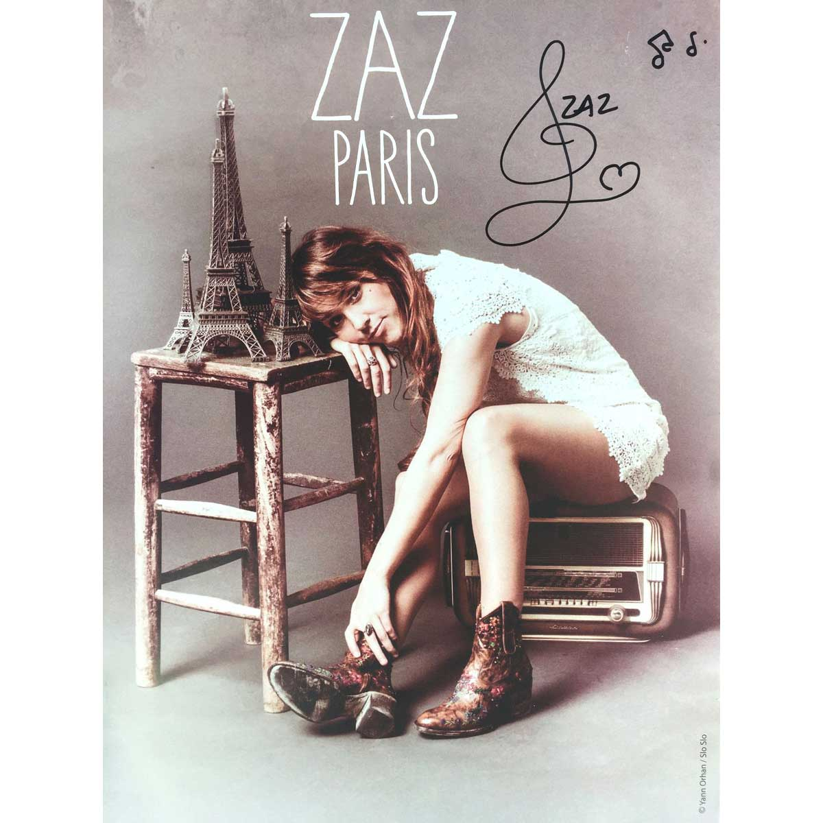 paris poster zaz official site. Black Bedroom Furniture Sets. Home Design Ideas