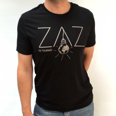 "T-SHIRT MAN ""ZAZ EN TOURNÉE"""